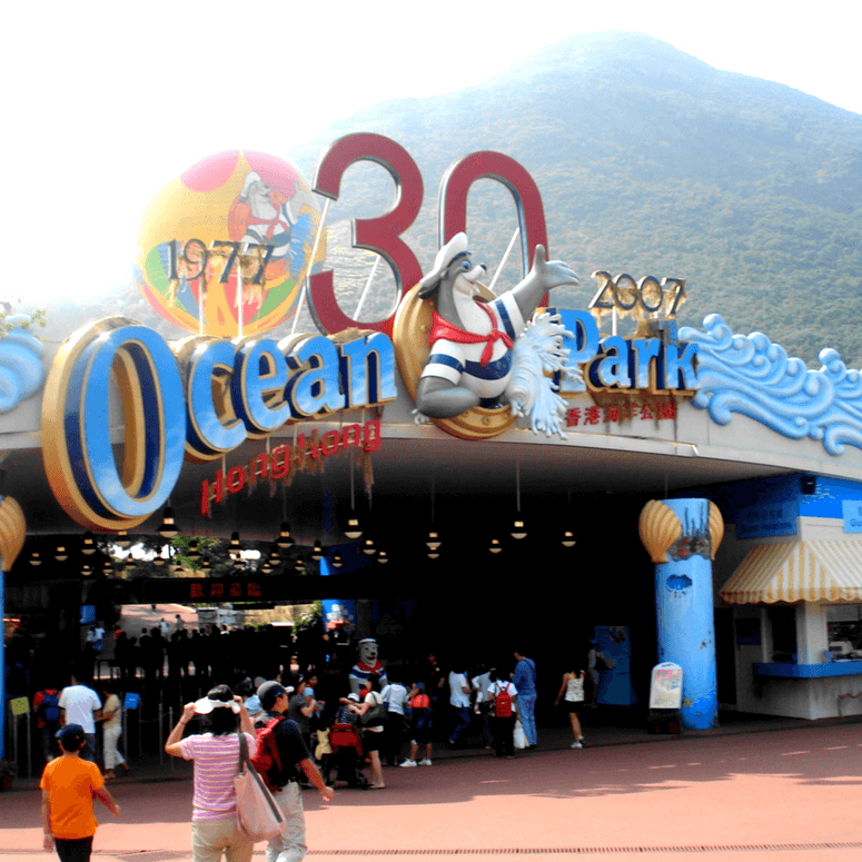 Enjoy The Thrills Of Ocean Park In Hong Kong
