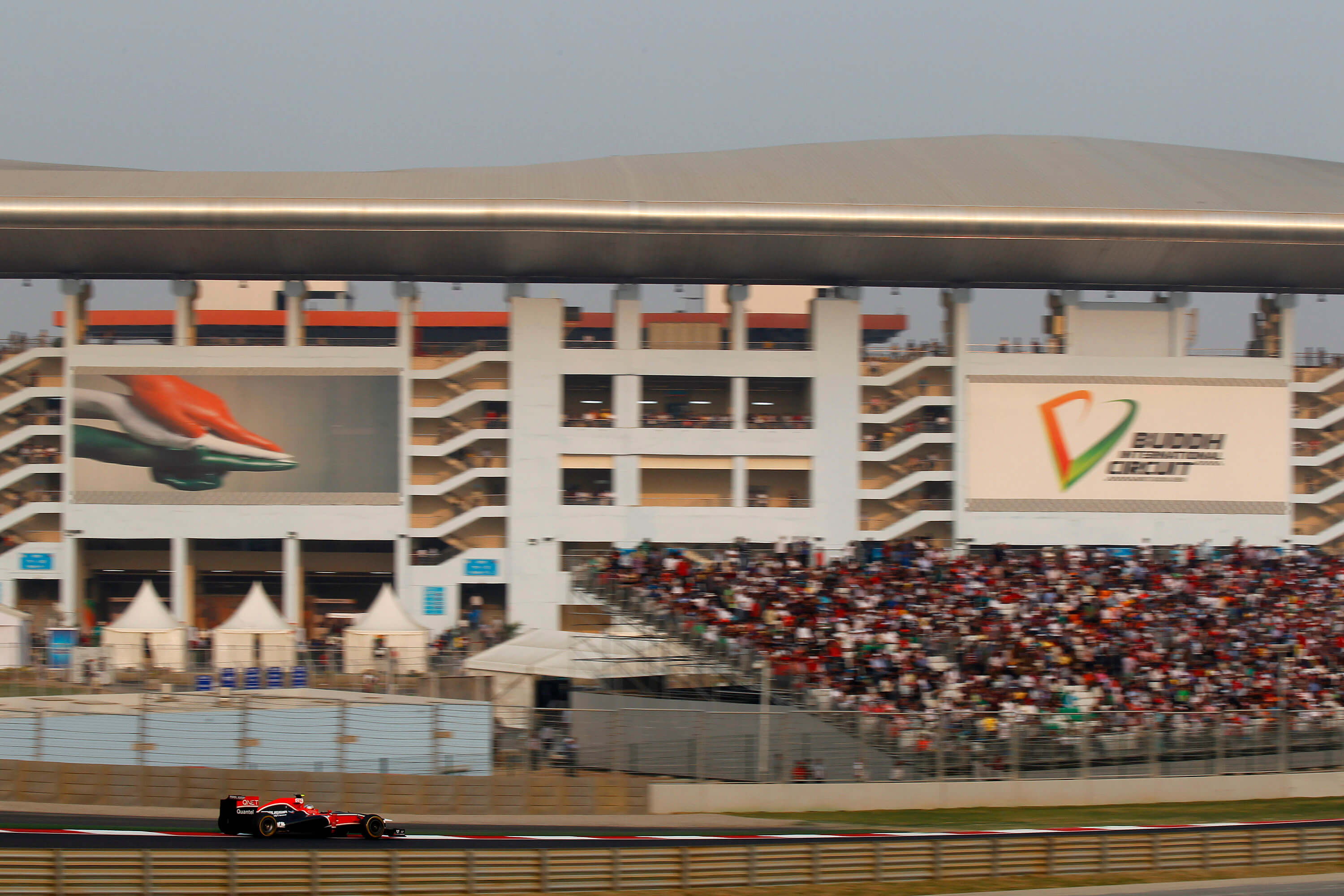 Buddh International Circuit - Indian Gp-Maurssia 3