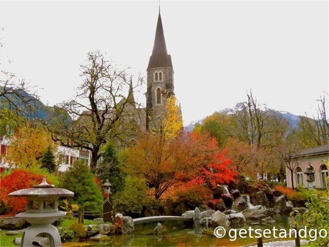 A Japanese Garden, Interlaken, Switzerland