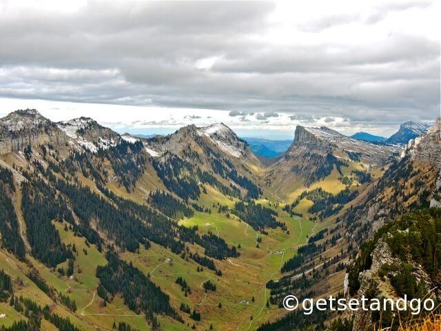 The Gorgeous Views from Neiderhorn, Interlaken, Switzerland