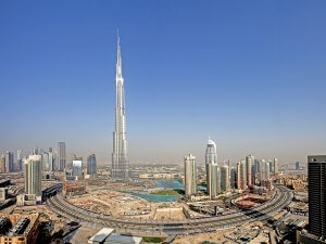 Burj Khalifa - tallest structures in the world