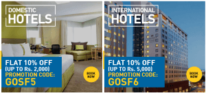 Thomas Cook India - Domestic and International Hotels