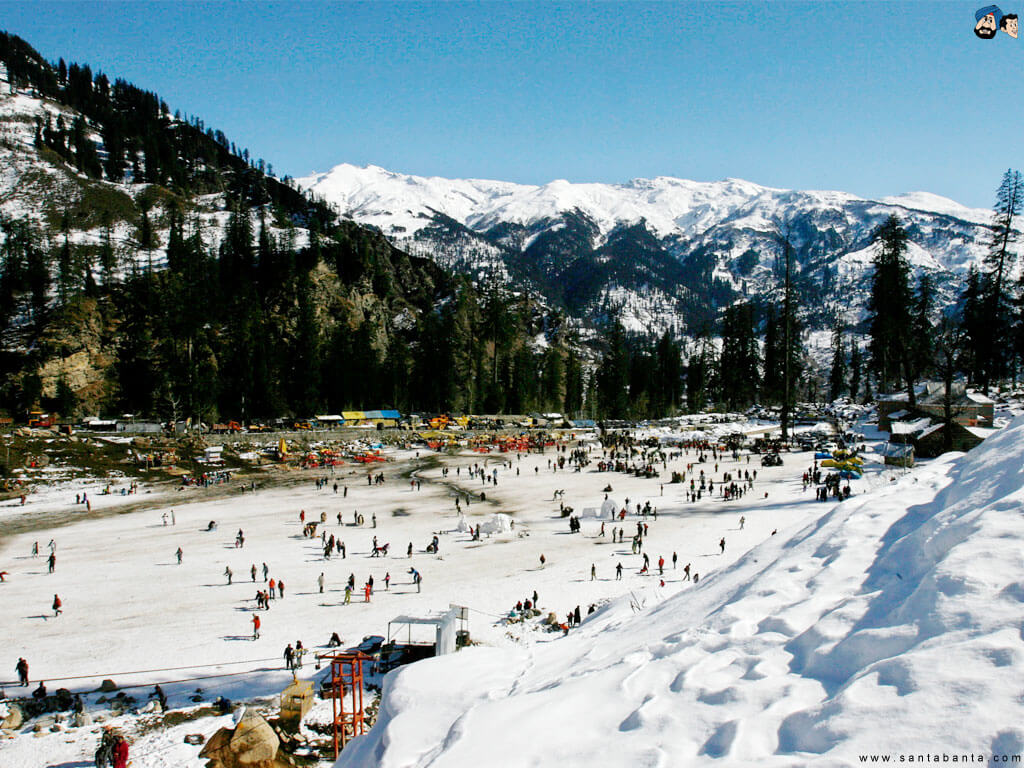 Solang Valley - Places in Himachal Pradesh