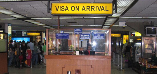 Visa On Arrival Counter