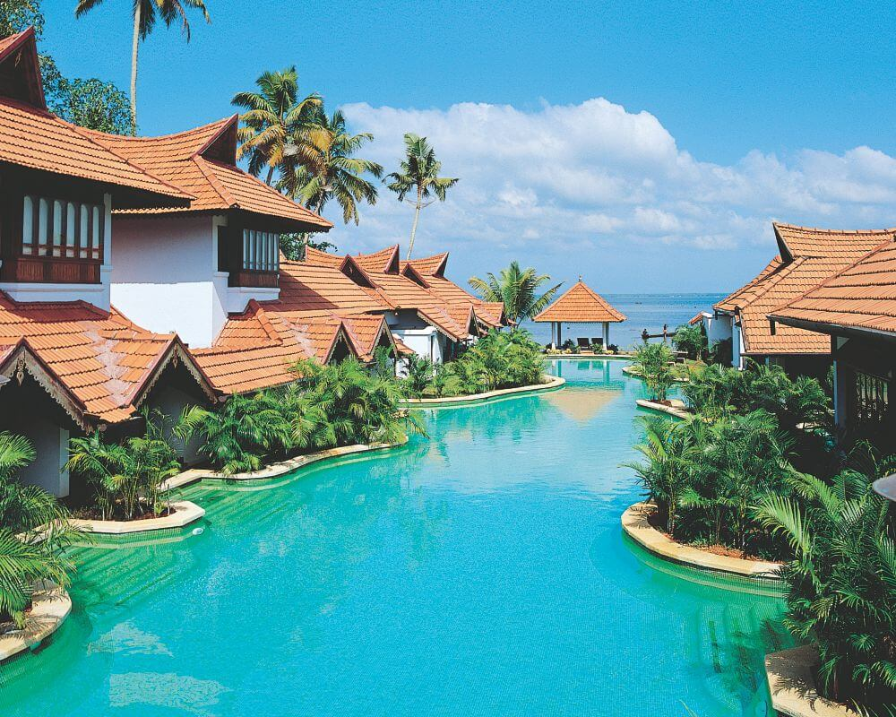The backwaters of kerala for honeymooners thomas cook india for Top design hotels india