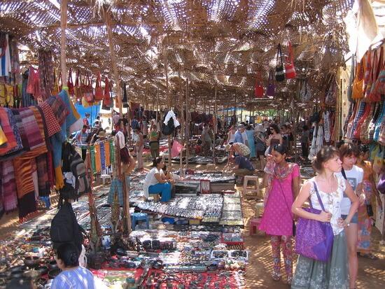The Flea Market - Goa