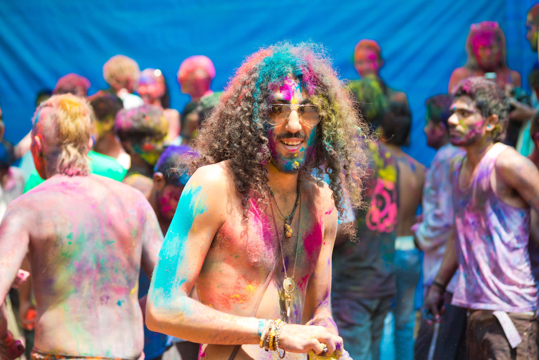 Holi - Exploring Goa or South India