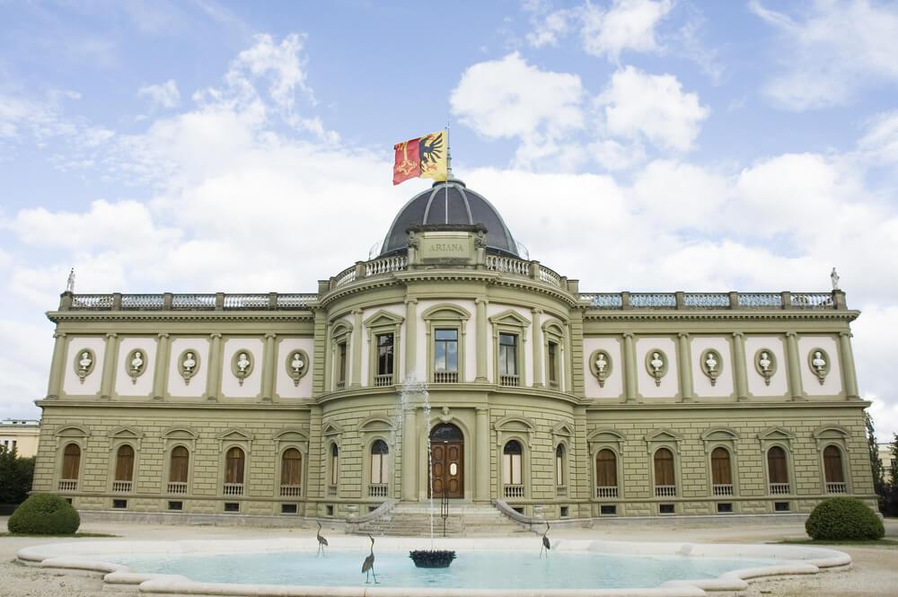 Ariana Museum at Geneva - Switzerland