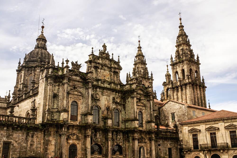 Cathedral of Santiago de Compostela The Romanesque Facade - Spain