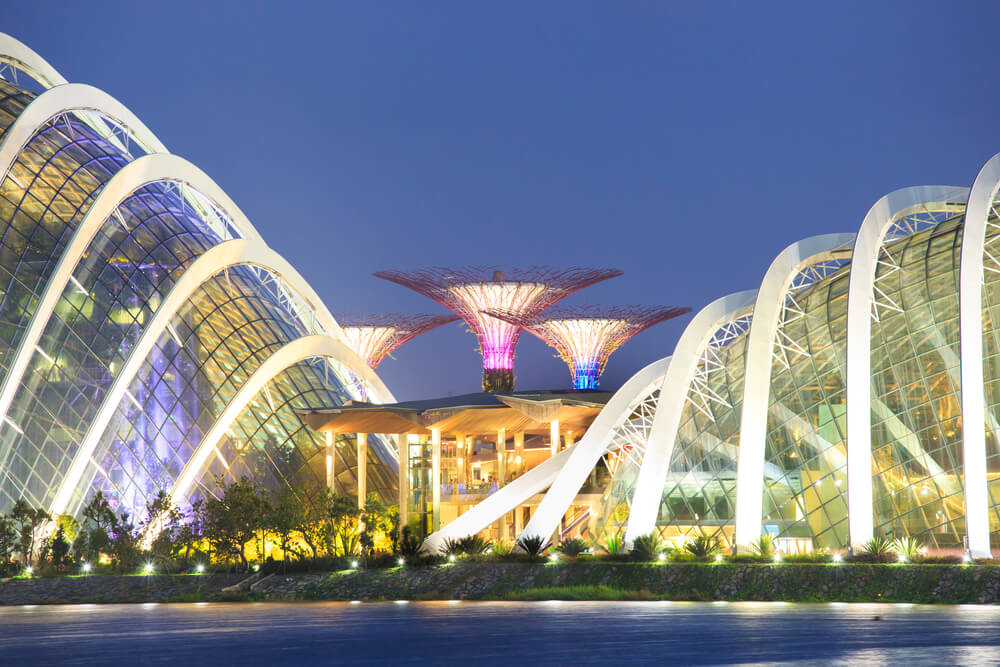 Dome at Gardens by the Bay in Singapore