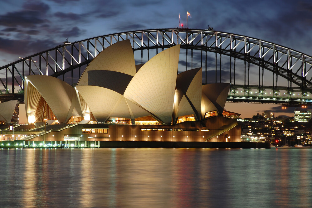 Sydney Opera House with Harbour Bridge