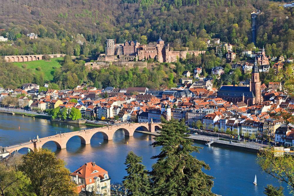 View on Heidelberg, Germany