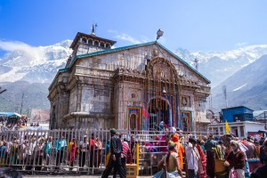Shiva at the temple of Kedarnath, in the Himalayan State of Uttarakhand