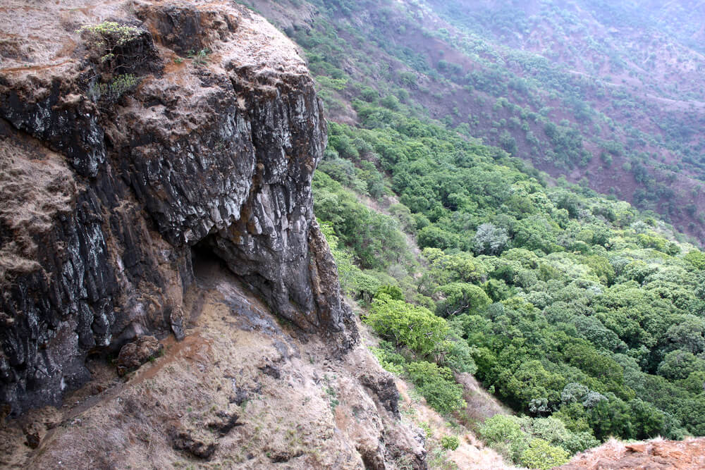 Famous Rock in the Shape of an Elephant head - Mahabaleshwar