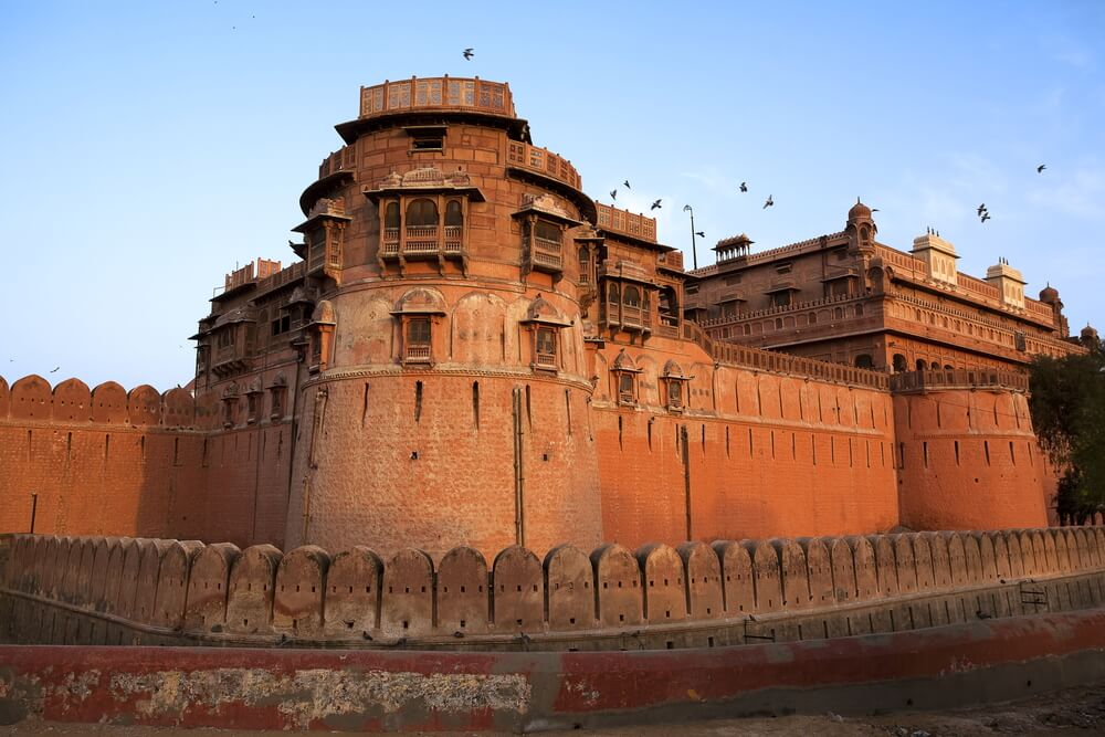 Junagarh Fort in city of Bikaner Rajasthan