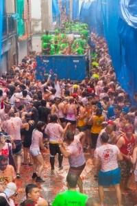 Fun And Madness Of La Tomatina Festival In Spain