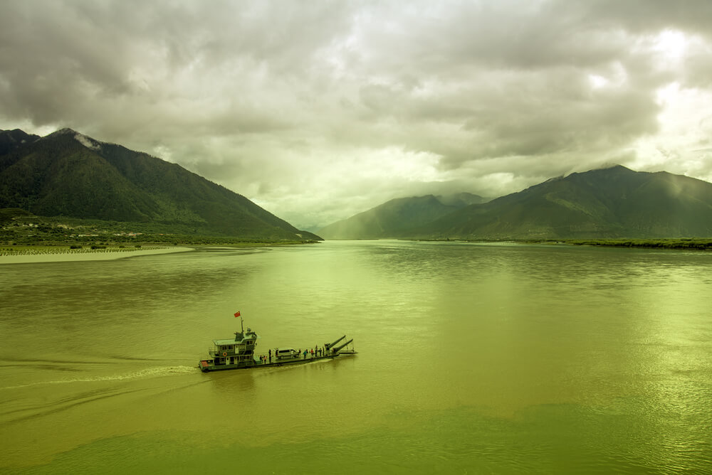 The Brahmaputra and Nyang - North East India