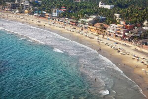 Restaurants and Hotels from Lighthouse in Kovalam - Kerala