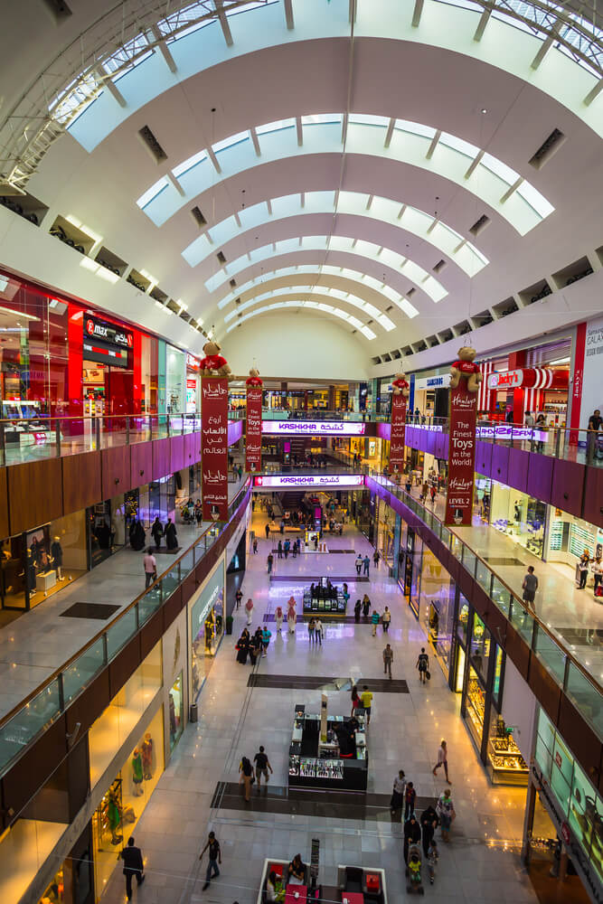 World's Largest Shopping Mall, Dubai