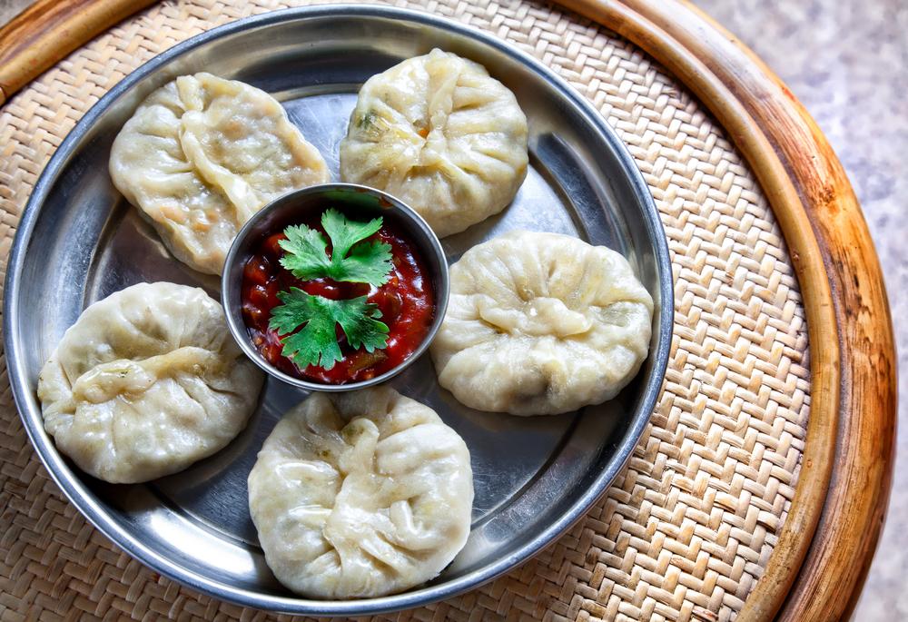 Dumpling momo - Tibetan Dishes