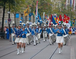 Zurich City Orchestra in National Costumes