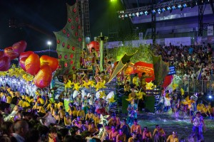 Chingay Festival in Singapore