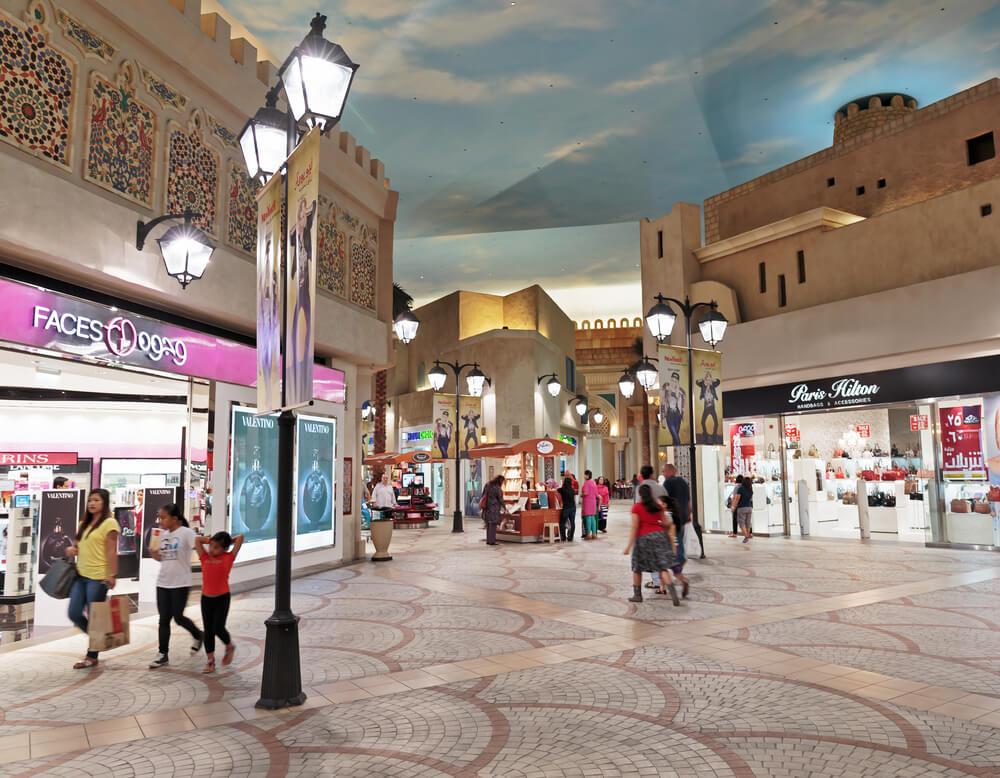 Interior IBN Battuta Mall Store - Dubai