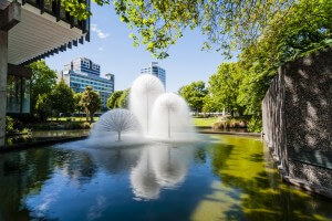 The Ferrier Fountain, Victoria Square, Christchurch, New Zealand