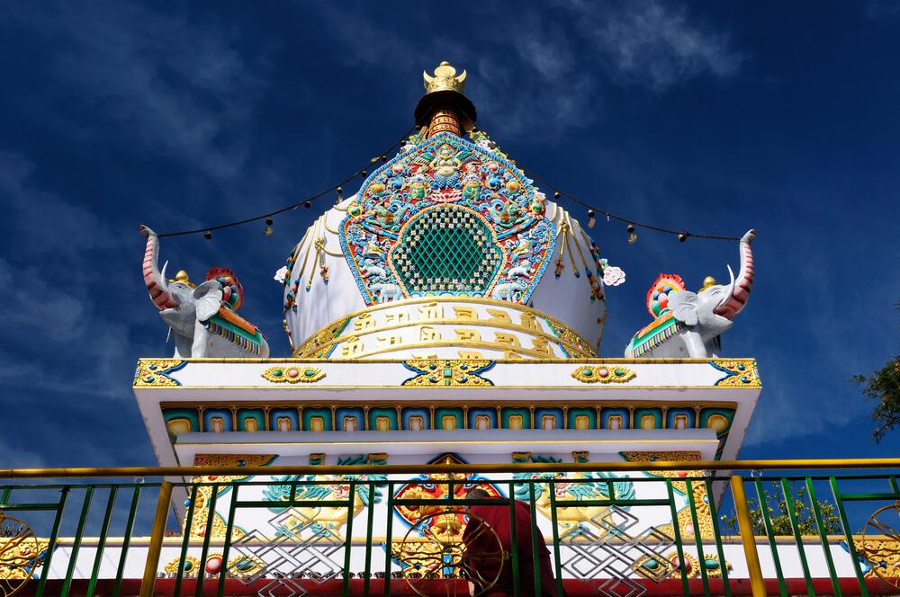 Kalaczakra temples in Dharamsala, Travel to Mcleod Ganj