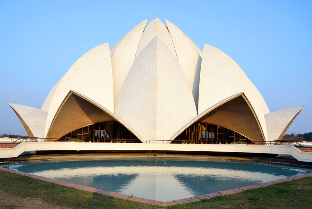 Lotus Temple-Delhi - destinations in India