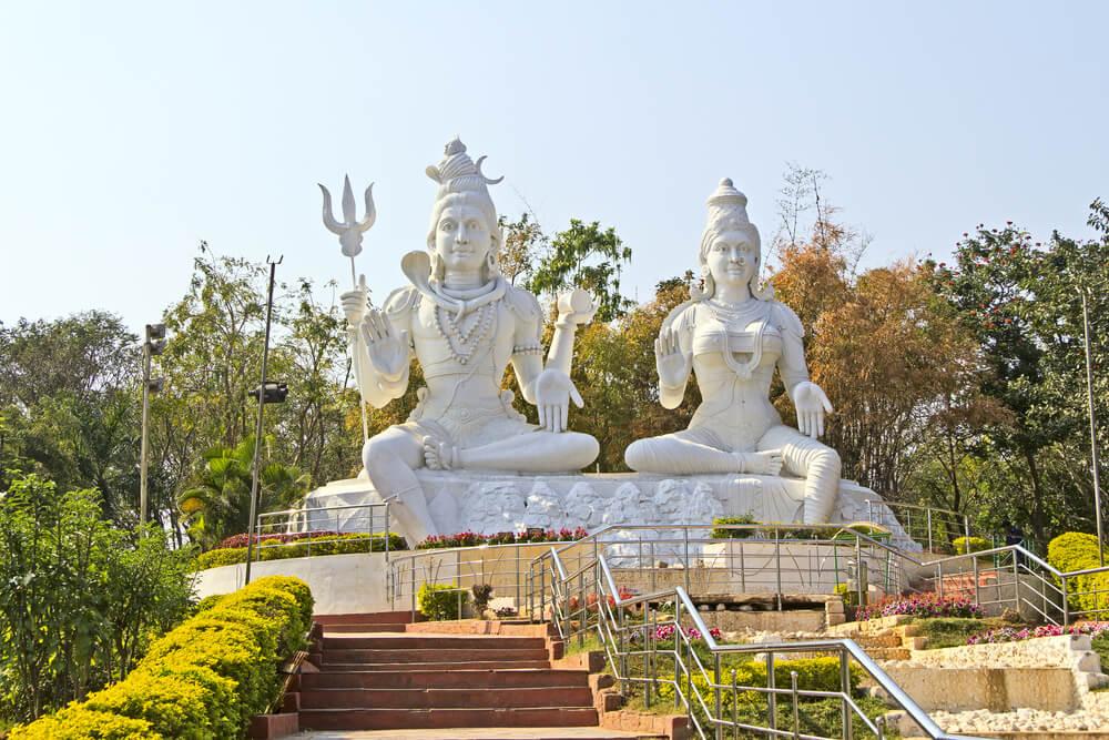 Shiva-Parvati - Kailasagiri Mountain