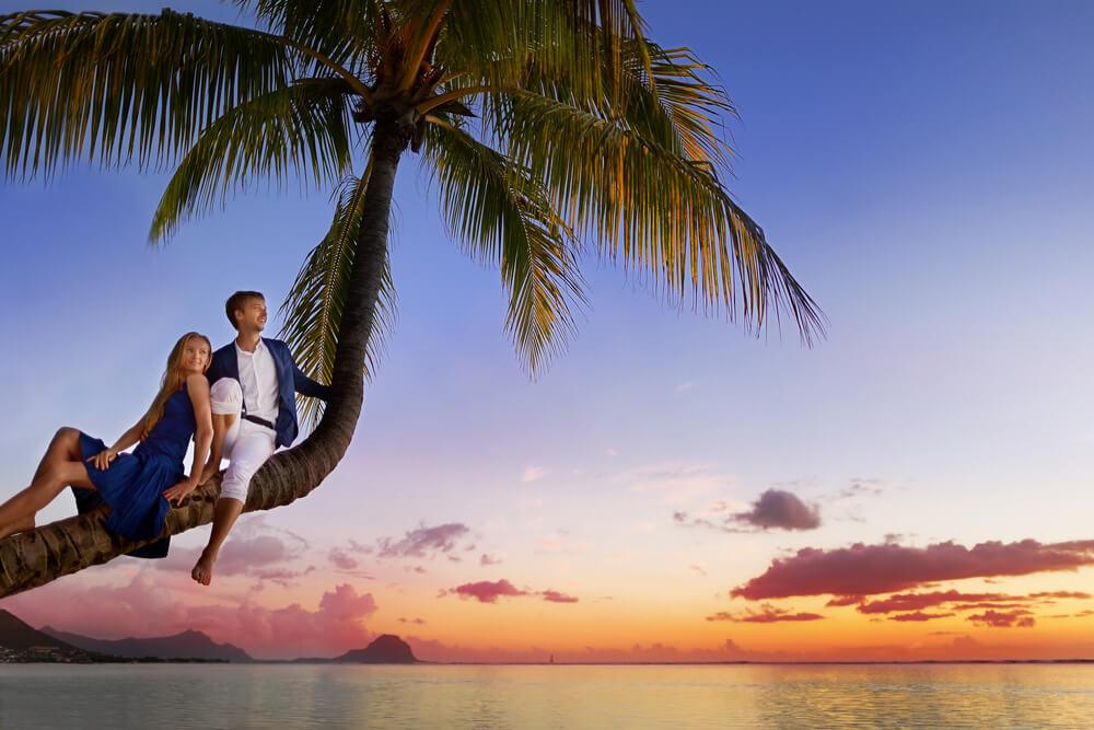 Beautiful Young Couple - Mauritius