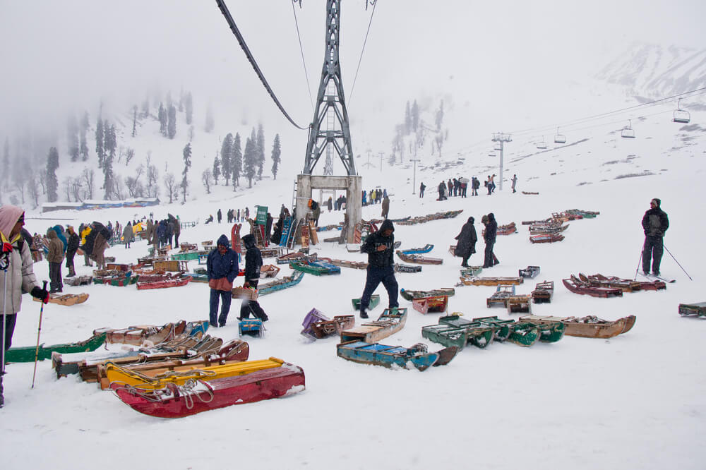 Gulmarg - hill stations in India