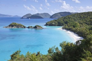 Trunk Bay beach-US Virgin Islands