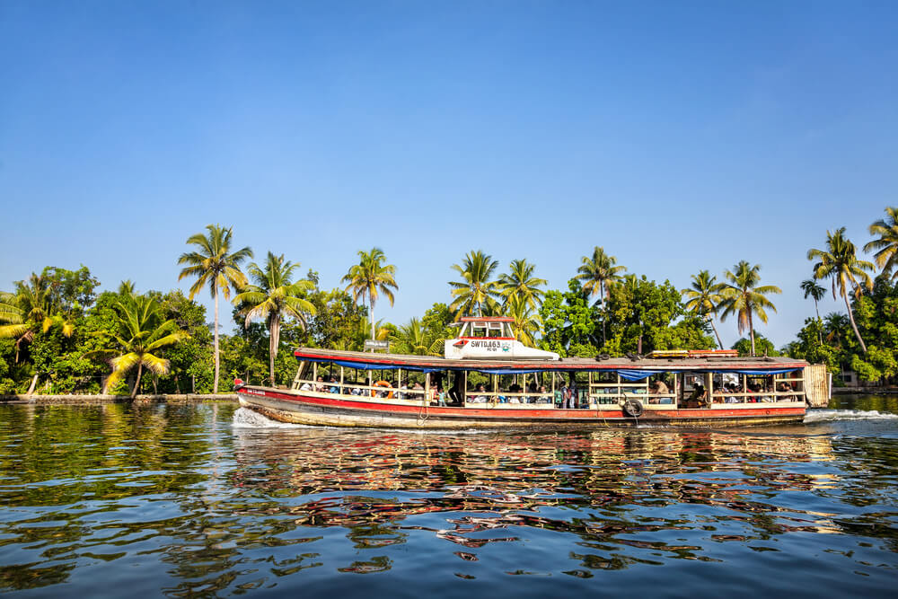 Backwaters - Scenic Beauty in Kerala