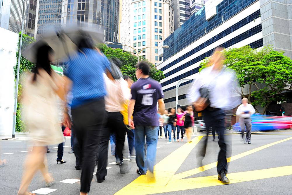 Singapore-Crowd