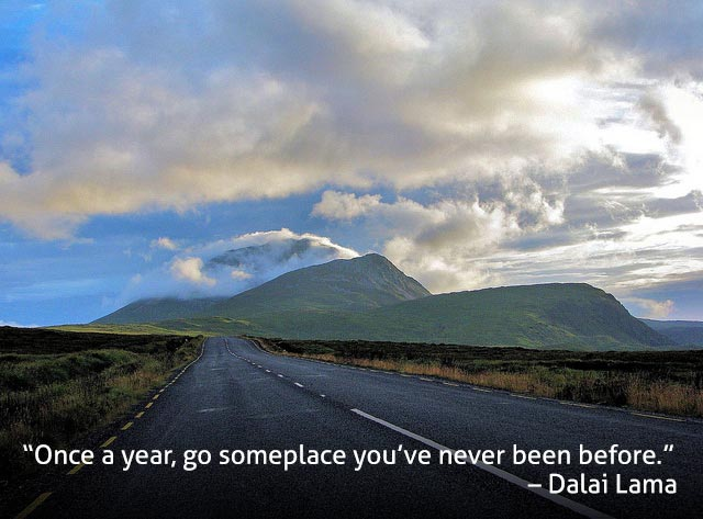 Best Travel Quotes - Dalai Lama