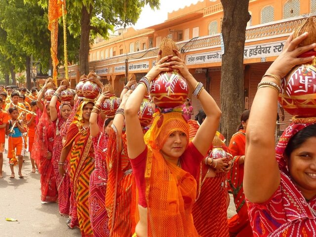 Teej Festival at Jaipur