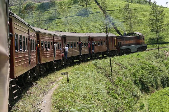 train to Sky - Sri Lanka