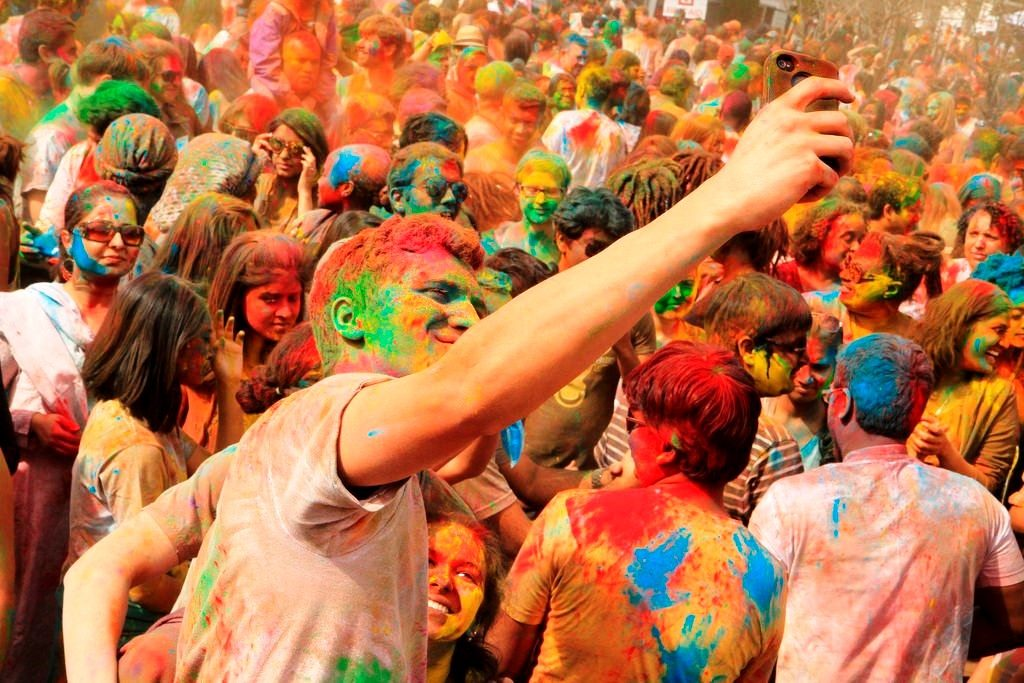 Delhi - Holi Celebration