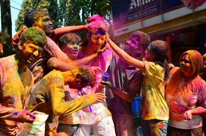 Mumbai - Holi Celebration