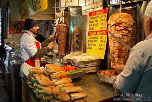 Istanbul, Turkey - Street Food