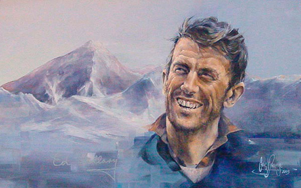 Mt. Everest, Sir Edmund Hillary