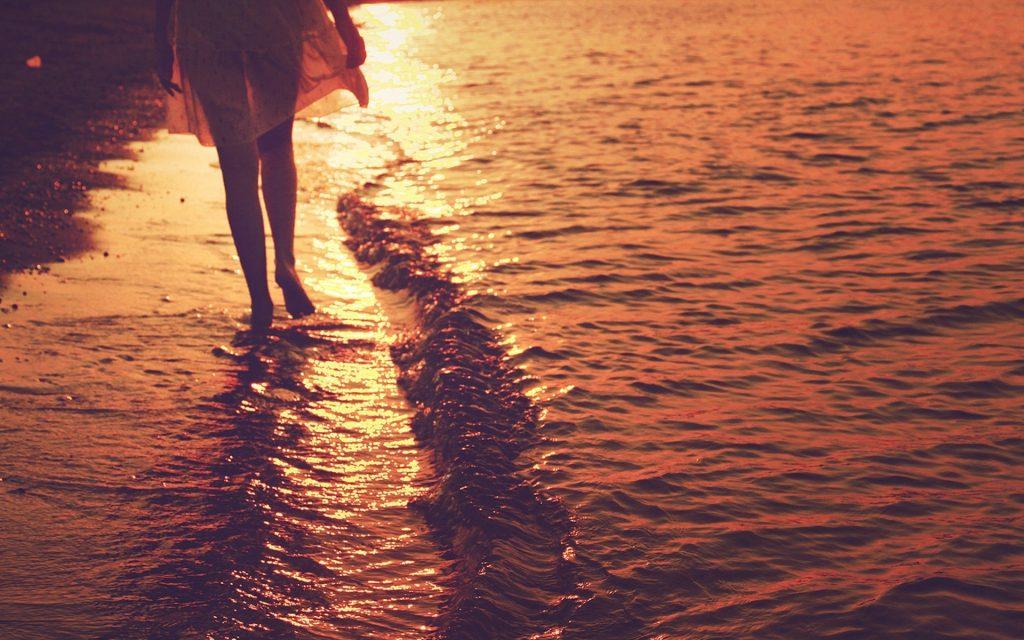 Walk on a beach - Andamans