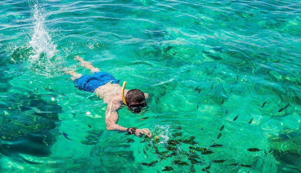 phi-phi-snorkelling