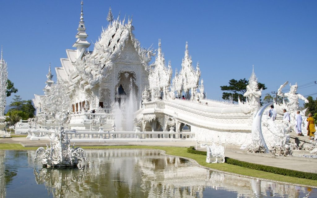 Wat Rong Khun, The White Temple in Thailand