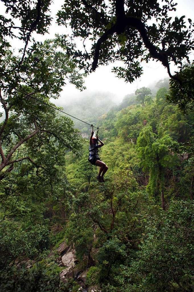 Phuket, Thailand - Tree hopping