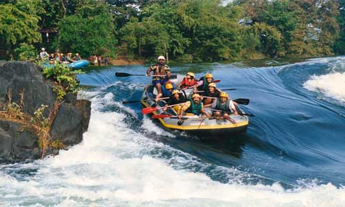 Goa – White water rafting