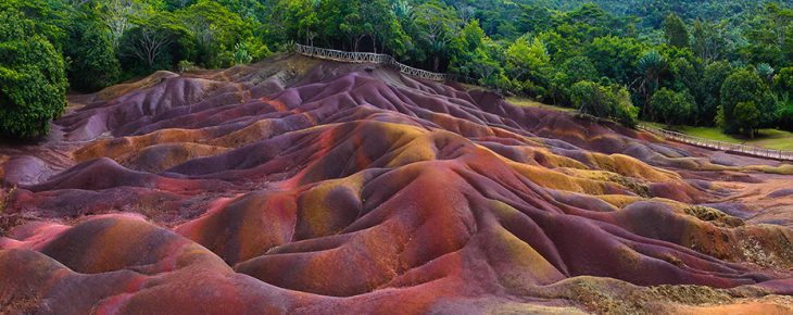 Chamarel Colored Earth
