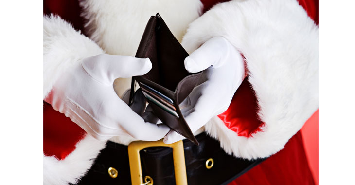 How will SANTA CLAUS distribute gifts in the days of Demonetization?